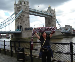 Cristina e il London Bridge