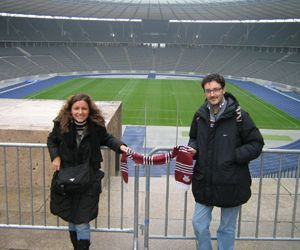 Ilaria e Massimiliano a Berlino