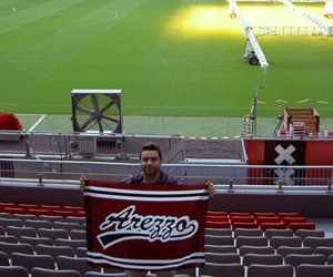 Luca all'Amsterdam Arena