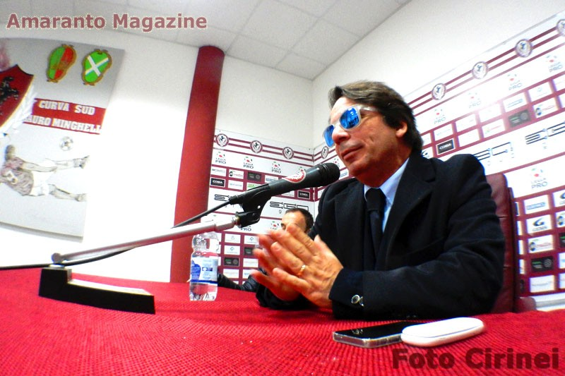 Ezio Capuano in conferenza stampa